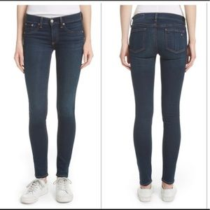 Rag & Bone Skinny Stretch Jeans In Bedford Size 25